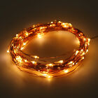 10/15/20m LED Solar Fairy String Light Outdoor Wedding Christmas Party Lamp LOT@