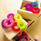 10Pcs Hair Accessories Telephone Line Hair Rope Scrunchies Traceless Hair Ring
