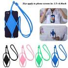 Multi Silicone Lanyard Case Cover Holder Sling Neck Strap For Cell Mobile Phone