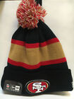 (More teams) New Era NFL 2013 Sideline Sport Knit Pom Beanie Hat