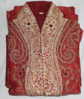 Burgundy  Designer Men Kurta set  Small New arrivals