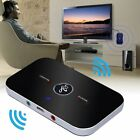 2 in1 Wireless Bluetooth Transmitter + Receiver Home TV Stereo Audio Adapter US