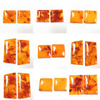 Pressed BALTIC AMBER Matching Pair For Making Jewelry #005