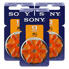 SONY Hearing aid 13 Size batteries Zinc Air PR48 1.4V Mercur