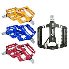 Mountain Bike Pedals Flat Platform Aluminum Alloy Bicycle 9/16 Bearing Pedals X1