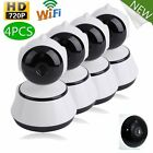 Lot Wireless 720P Pan Tilt Network Home CCTV IP Camera Night Vision WiFi Webcam
