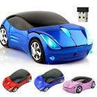 Wireless Computer Mouse Car Sport Race Kids Children Comfortable Gaming Fancy