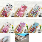 Shockproof Liquid Glitter Quicksand Sparkle TPU Gel Soft Case Cover For Phones