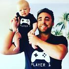 Player 1 Player 2, Father Son Matching Shirts, Matching Dad Baby, Twin Outfits