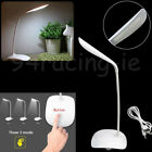 USB Rechargeable Touch Sensor Cordless LED Desk Table Reading Lamp Light KY HOT