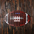 Personalised Beer Cap Holder American Football-Shaped Wall Decoration