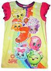 Girls Official Shopkins Buncho Harriet D'Lish Blossom Nightdress 2 to 8 Years