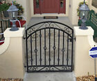 Handmade Donovan 3ft Wrought Iron Gate Fits a 3ft Wide Opening SHIPS FREE