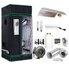 Grow Tent Light Kit w/ 400w 600w Watt Ballast HPS MH Reflector Fan Carbon Filter