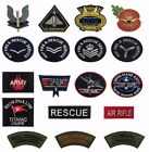 TOP GUN USA ARMY ROYAL AIR FORCE NAVY RESCUE SERVICES IRON/SEW ON PATCH BADGE