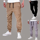 Men Trousers Sweatpants Harem Pants Casual Jogger Sportswear Slacks Dance Baggy