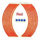 Strips Wheel Stickers And Decals For Reflective Rim Tape Bike Motorcycle Car TS