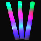 1/5/12 tlg LED Stick 48cm Leuchtstab Schaumstoff Party Glowstick Konzert  PAL