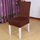 12 Solid Color Spandex Dining Party Home Wedding Elastic Stretch Chair Slipcover