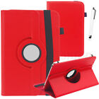 """Folio Stand Leather Cover Case For Barnes & Noble NOOK 7"""" 9"""" Tablet + STYLUS"""