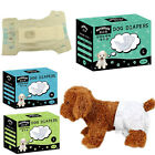 New Pet Sanitary Pants Puppy Disposable Diapers Dog Soft Leakproof Nappy 10PCS