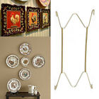 """W Type Hook 8"""" to 16""""Inchs Wall Display Plate Dish Hangers Holder For Home Decor"""