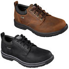 Skechers Relaxed Fit Segment Bertan Mens Shoes Waterproof Memory Foam Leather