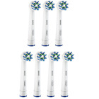 Braun Oral B CROSS ACTION Replacement Electric Toothbrush Heads 2, 3, 4 or 8 NEW <br/> 100% GENUINE ORAL B - TRUSTED UK SELLER - FAST SHIP