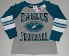 PHILADELPHIA EAGLES BOYS YOUTH LONG SLEEVE T SHIRT XS S L XL XXL NWT GRAY GREEN $22.99 USD on eBay