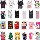 3D Cartoon Disney Soft Silicone Kid's Gift Cover Case For iPod Touch 65 iPhone X