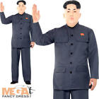 Kim Jong Un Mens Fancy Dress North Korean President Dictator Adults Costume New
