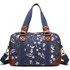 Bird Womens Oilcloth Hand Luggage Travel Weekend Maternity Cabin Bag Holdall