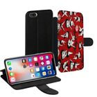 Betty Boop Printed PU Leather Stand Wallet Case for Apple iPhone Models - 0024 $15.38 USD