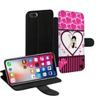 Betty Boop Printed PU Leather Stand Wallet Case for Apple iPhone Models - 0020 $24.0 AUD