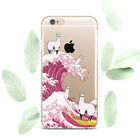 Cute Llama Art Silicone Soft Rubber Case Cover Back For Apple iPhone 5 6s 7 8+ X