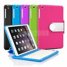 360 Swivel Rotating Stand Cover Case with Bluetooth Keyboard For iPad Mini 1 2 3