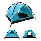 Double Layer Camping Hiking Tent Automatic Pop Up Waterproof 3-4 Person Tents