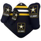 US ARMY Golf Club Head Covers & golf towel (SOLD SEPARATELY)  USA made