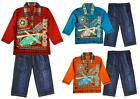 Boys Toddler New Era Helicopter Polo Top & Combat Jeans Set 12 to 36 Months