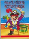 PIRATE MINI A6 STICKER ACTIVITY BOOK KIDS PARTY BAG STOCKING FILLERS