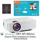1080P HD HDMI USB Video Portable WIFI Push LCD LED Mini Home Theater Projector