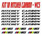 KIT 18 ADESIVI RITCHEY carbon WCS BICI STICKERS RITCHEY BIKE