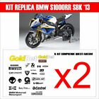 KIT 49 ADESIVI sponsor BMW S1000rr Melandri superbike STICKERS carena sbk 2013