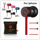 Genuine Beats by Dr Dre IBEATS URBEATS In Ear Headphones Earphones Various Color <br/> Manufacturer Refurbished to NEW Beats,1 Year Warranty