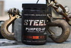 Steel Supplements Pumped AF Nitric Oxide | Pump | Pre Workout | C4