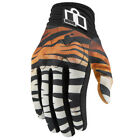 Icon Shaguar Mesh/Leather Touchscreen Women's Motorcycle Gloves