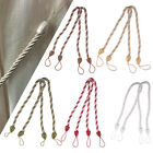 Modern Braided Rope Satin Cord Tie Back Tiebacks for Curtain Hold Window Drape