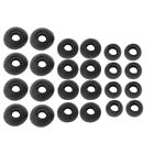 12 Pairs(S/M/L) Soft Silicone Replacement Eartips Earbuds For Earphone Headphone