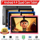 """7"""" Android Tablet 8GB Quad Core Dual Camera Bluetooth Wifi Tablet Multicolor NEW"""