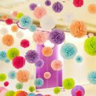 5pcs 8 inches 20cm Artificial flowers Tissue Paper Pom Poms Flowers Ball